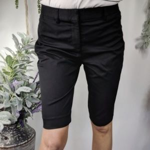 THEORY Palmer bi-stretch bermuda short black 1005